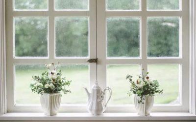 Cómo pintar correctamente una ventana o puerta con cristales